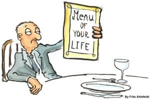 menu of your life